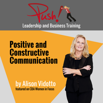 CBA_2017.03.14_Positive and constructive communication